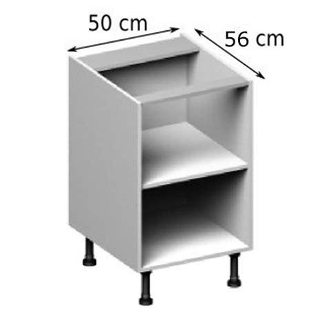 meuble cuisine largeur 50 cm meuble caisson bas largeur 50 vial menuiserie cuisine