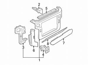 Ford Mustang Radiator Support Air Deflector  Side  Left