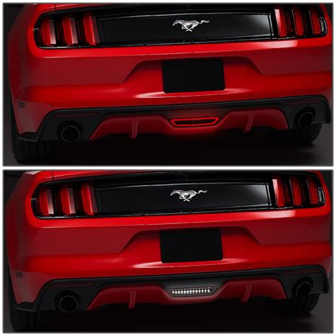ford mustang full led  tail brake lightreverse