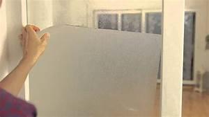 Dc Fix Klebefolie : d c fix fensterfolie static premium repositionieren youtube ~ Yasmunasinghe.com Haus und Dekorationen