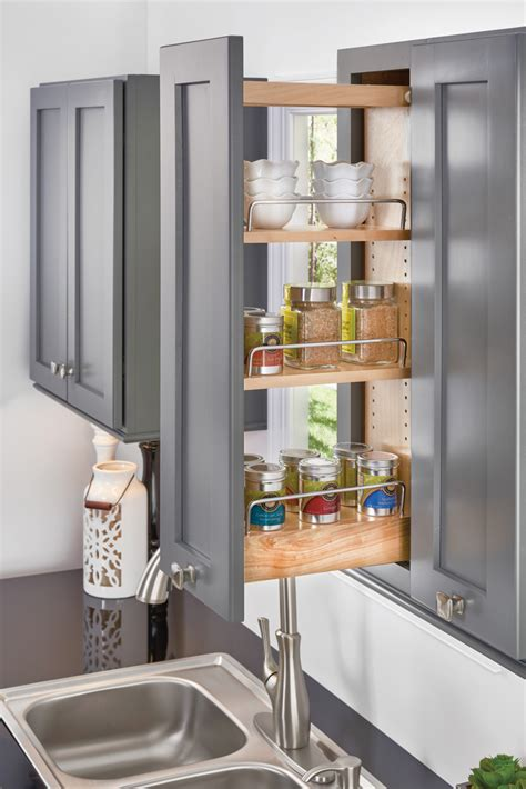 kitchen cabinet pull out spice rack pull out spice rack cabinet kitchen storage organizer 9132