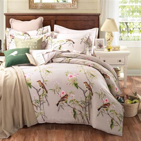 100 cotton duvet covers king size uk pastoral style 100 cotton bedding sets king size