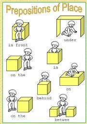 prepositions  place poster fully editable esl
