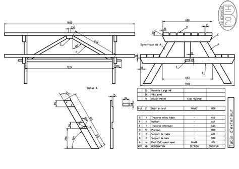 dimension table jardin bois table de lit a roulettes
