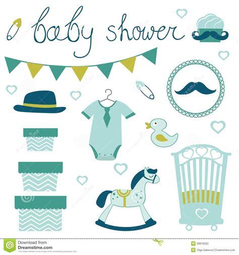 Little Man Baby Shower Stock Vector Image Of Motherhood