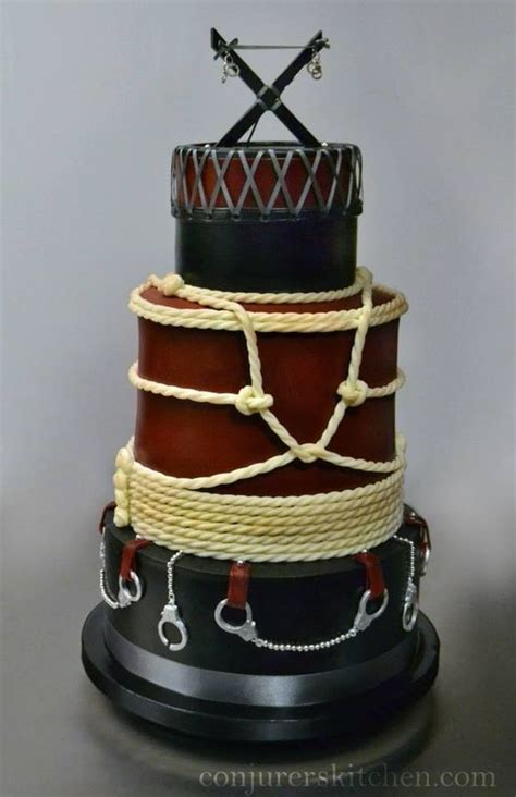 bondage cake  edible awesomesauce