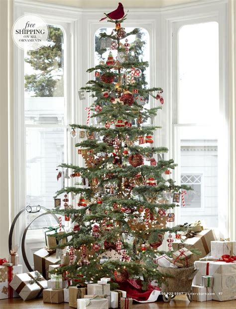 pottery barn nostalgia tree holiday happiness pinterest