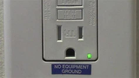 Prong Receptacle Replaced With Gfci Youtube