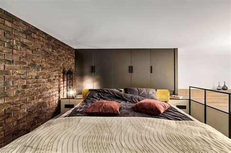 mezzanine level bedroom adds extra space  small kiev