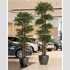 Handcrafted Large Silk Trees For Home & Office At Petals