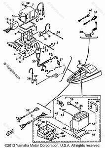 Yamaha Waverunner 1988 Oem Parts Diagram For Electrical