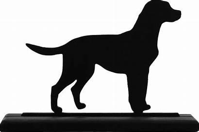 Clipart Lab Silhouette Labrador Clip Dog Head