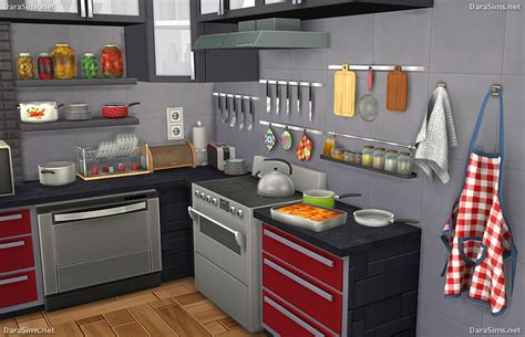 kitchen decor set  sims  simscustomcontent