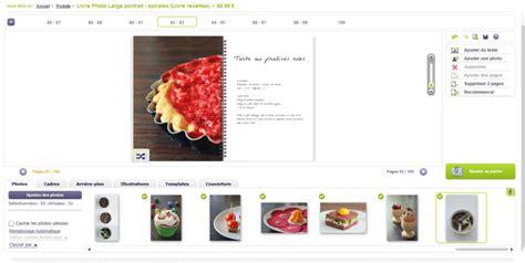 creer un livre de recette de cuisine cr 233 er livre de cuisine gourmandise en image