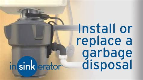 replacing a garbage disposal in a double sink how to install remove a garbage disposal insinkerator