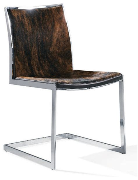 Cowhide Chairs Modern by Cowhide Modern Dining Chair Contemporary Dining Chairs