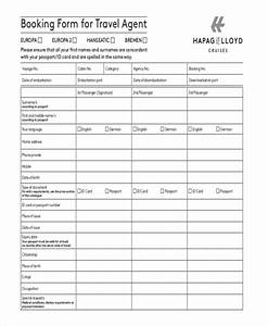 10 travel order forms free samples examples format With travel agency forms templates
