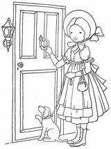 Embroidery Coloring Patterns Hand Pages Kay Sarah Books sketch template