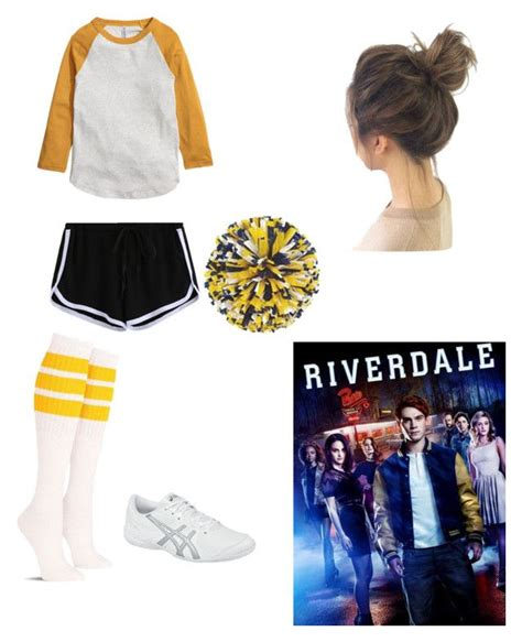 U0026quot;River Vixens u0026quot; by dunwithapa liked on Polyvore featuring Asics cheerleader cheer and ...