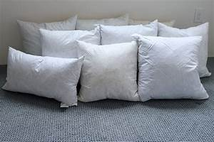 my secret to finding inexpensive pillow forms With are feather pillows good