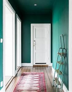 peindre son couloir en couleur lastuce deco parfaite With deco entree de maison 13 vert deco de la peinture verte pour decorer son
