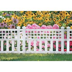 decorative fence panels garden yard connecting border