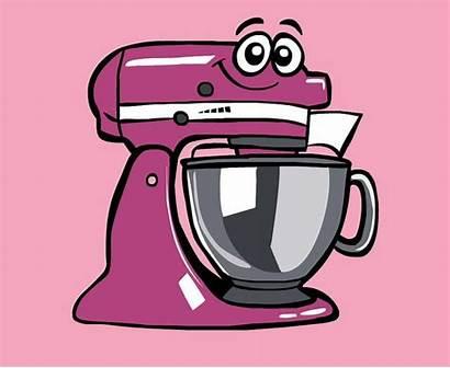 Cartoon Kitchenaid Artisan Cartoons Mixers Craftsman Diy