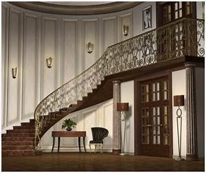 Grand Foyer Corner 3D Models GrayCloudDesign