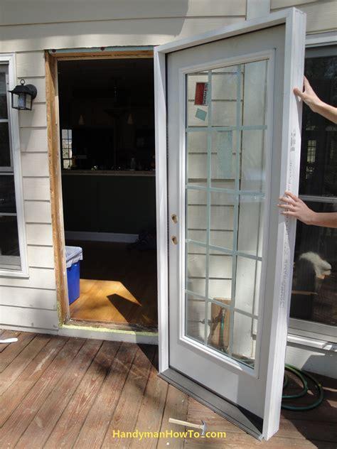 how to replace an exterior door part 3
