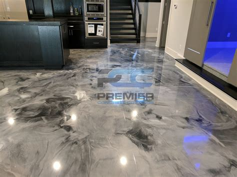 metallic epoxy flooring pcc columbus ohio