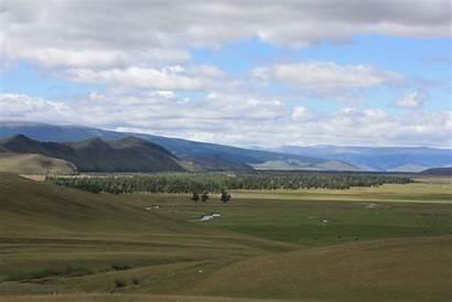Landscape Mongolian Mongolia Chasing Ghengis Khan Ei