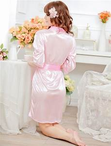 women39s mature sleepwear robe bathrobes silk lace pajamas With mature robe