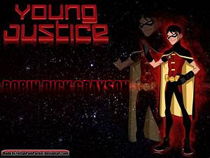 Young Justice Robin Dick Grayson Wallpaper by ...