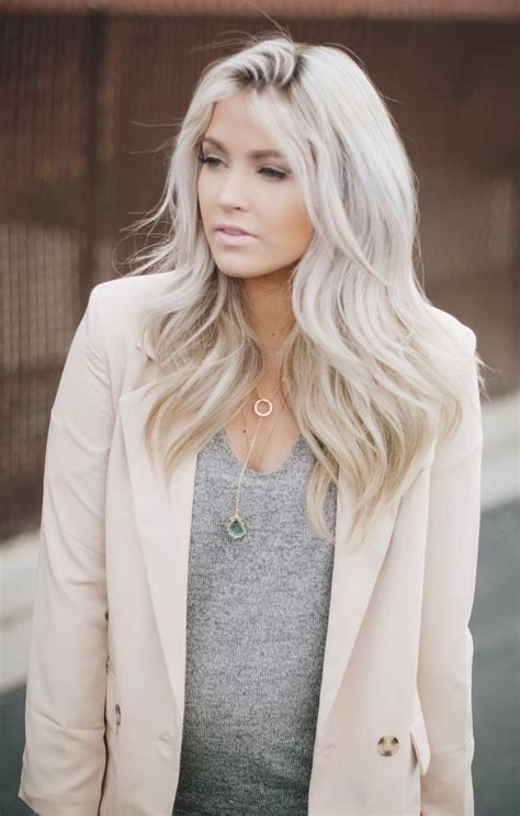 Platinum Color Hair by Gorgeous Platinum Hairstyles The Haircut Web