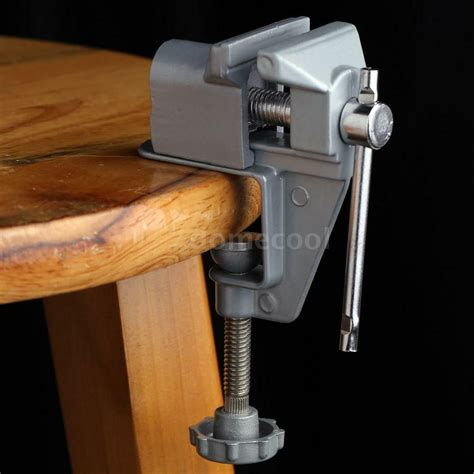 mm aluminum mini bench vise clip  jewelry clamp table