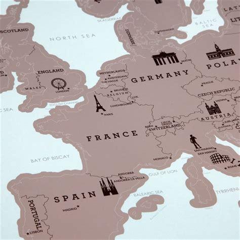 Carte De A Gratter Nature Et Decouverte by Carte D Europe 224 Gratter Nature D 233 Couvertes
