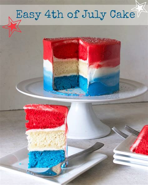 easy 4th of july cakes easy 4th of july cake rose bakes