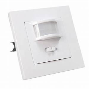 140 Degree Infrared Pir Motion Sensor Recessed Wall Lamp