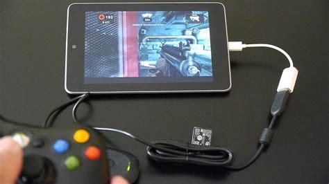 dead trigger   nexus   xbox  wireless controller youtube