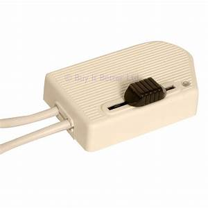 Dimmer switch in line foot operated rt81 rated 60 300w for for White floor lamp with dimmer