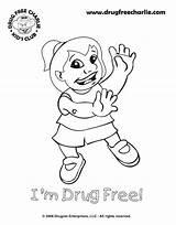 Coloring Say Drug Drugs Week Drawings Printable Ribbon Drawing Dope Adults Anti Saying Worksheets Template Sheet Getcolorings Designlooter Coloringhome Getdrawings sketch template
