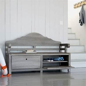 Meuble A Chaussure Banc : banc de rangement pour chaussure ~ Preciouscoupons.com Idées de Décoration