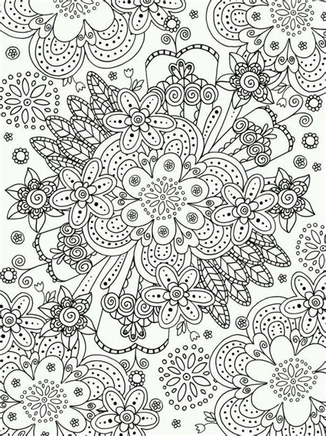 coloring pages adult flower spring felicity french explosion printable mandalas advocate colouring flowers books collage mandala printables collages doodles psychedelic