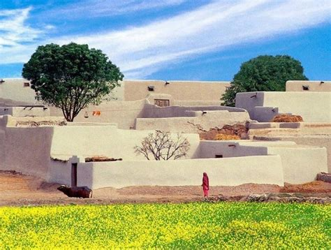 typical pakistani village  golden scope