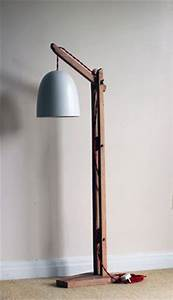 vintage wooden stand lampfloor lamp standing furniture With floor stand for hanging lamp