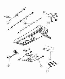 Dodge Grand Caravan Wiring  Jumper  Overhead Console  Dvd