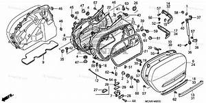 Honda Motorcycle 2006 Oem Parts Diagram For Saddlebag