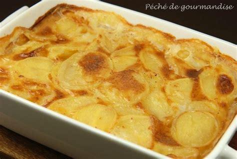 gratin de pommes de terres a la creme fraiche et fromage fondu