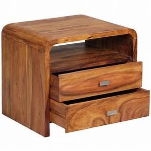 Chevet Bois Massif : table chevet bois massif ~ Teatrodelosmanantiales.com Idées de Décoration