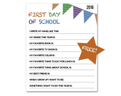 first day of school sign template documenting childhood school photo interview miss freddy